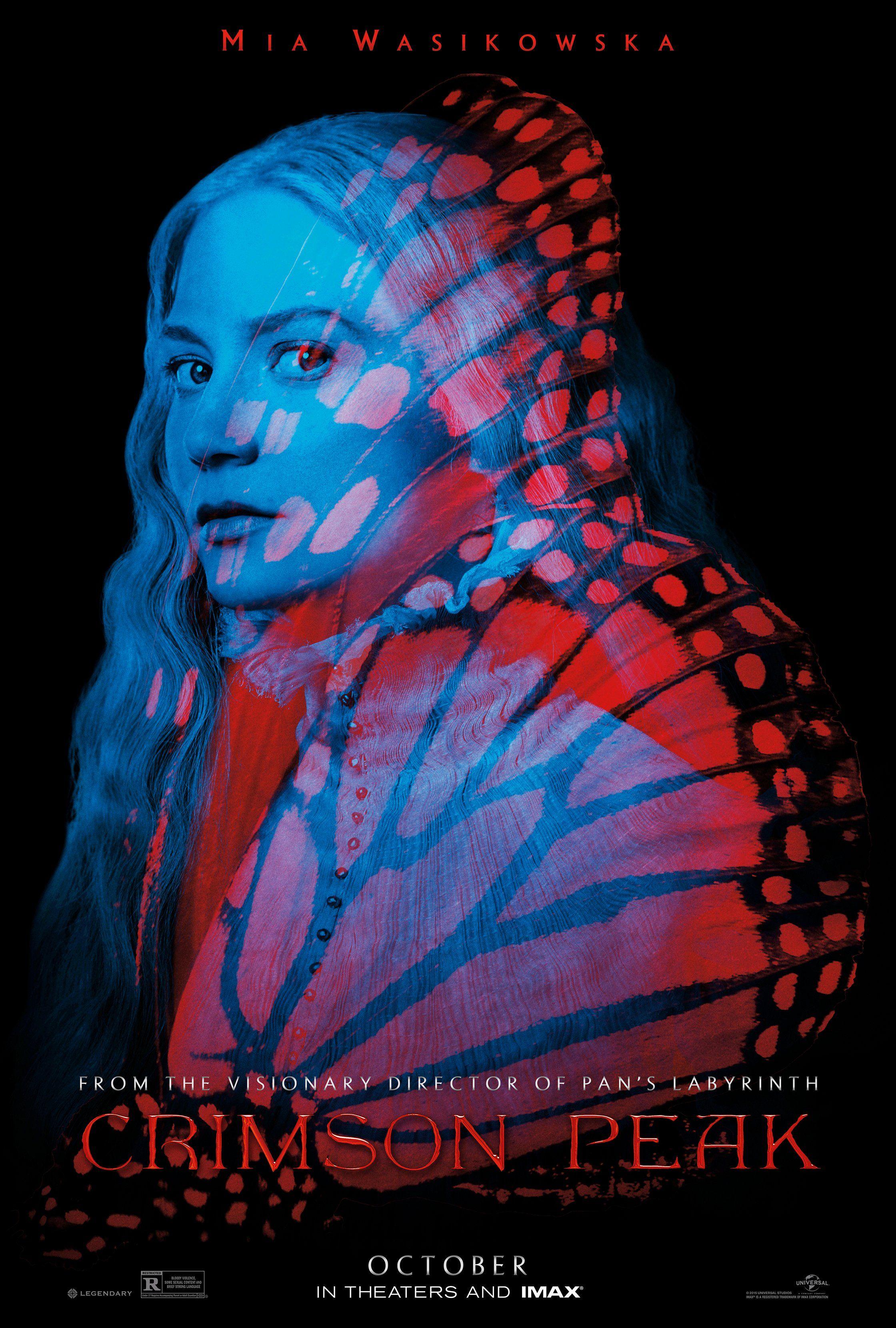 Crimson Peak Mia Wasikowska Poster