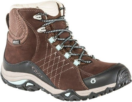 4b4bca01c6b Oboz Women's Sapphire Mid BDry Hiking Boots Java 11 | Products ...