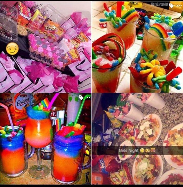 pinterestkeriaah° } Sleepover food, Hotel party, Hotel