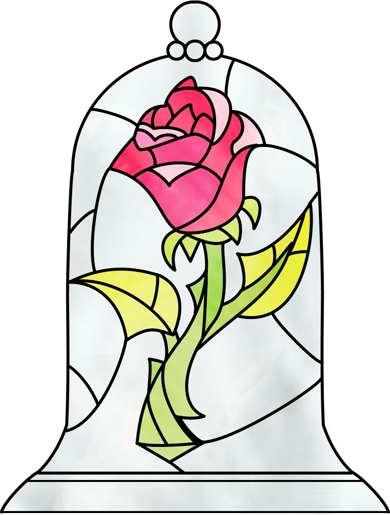 Would love a tattoo of the Beauty And The Beast Rose for the very beginning of the movie....