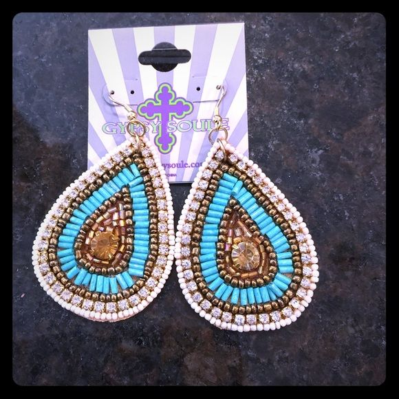 Gypsy Soule earrings Beautiful brand new sparkly earrings Gypsy Soule Jewelry Earrings