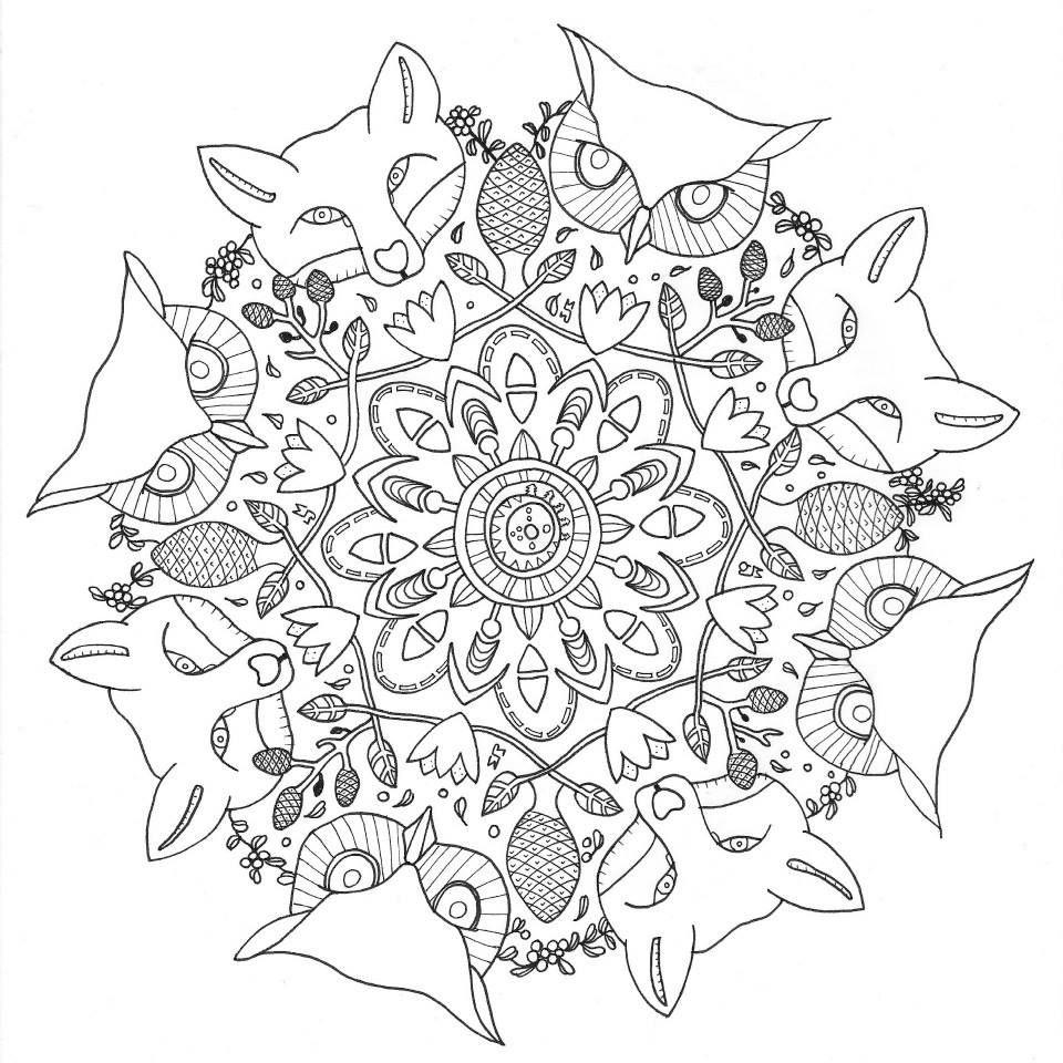 Art Sanalia Desenhos Para Colorir E Desestressar Malvorlagen Tiere Muster Malvorlagen Ausmalbilder