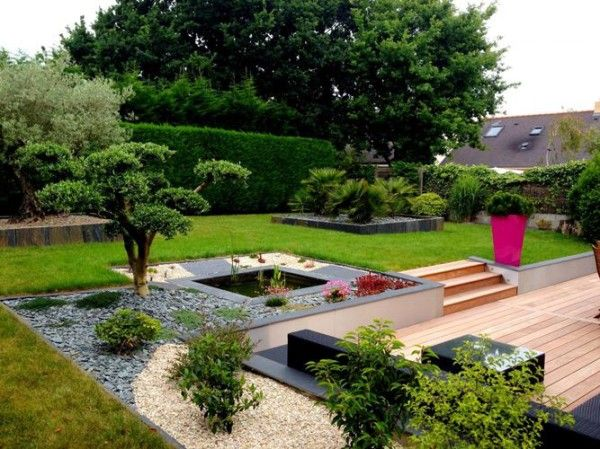 Superieur Decorar Jardin Exterior Pequeño | Inspiración De Diseño De Interiores