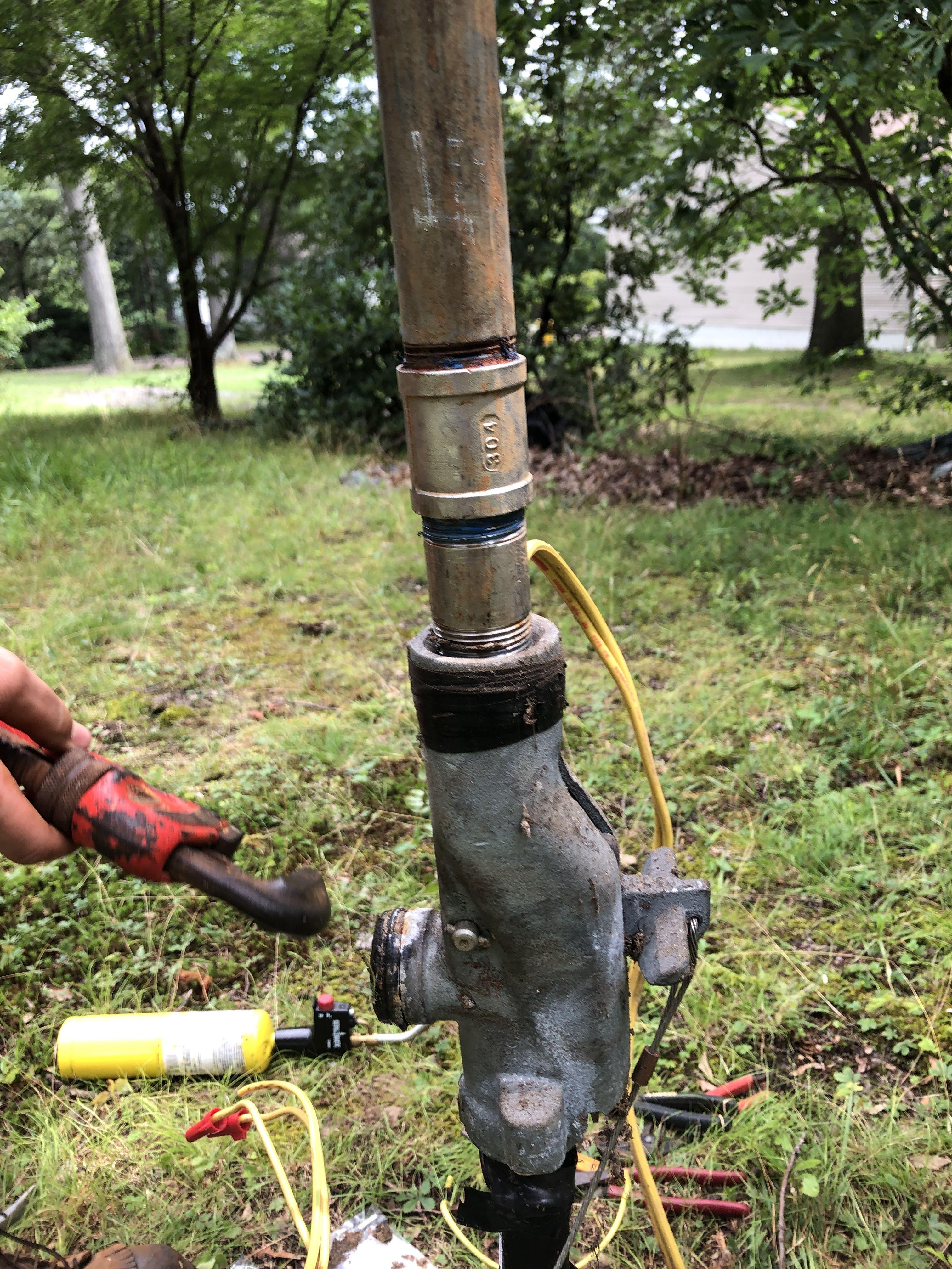 Replacing Well Pump Well Pump Water Treatment Crownsville