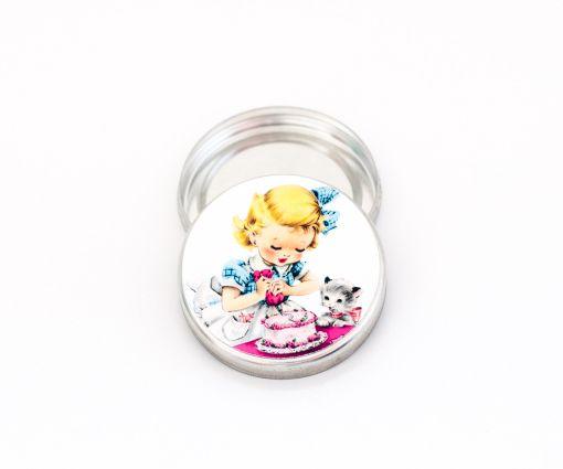Adesivos redondos de 5 cm para imprimir e colar em latinhas Mint-To-Be no tema Mini Chef ou Confeitaria!