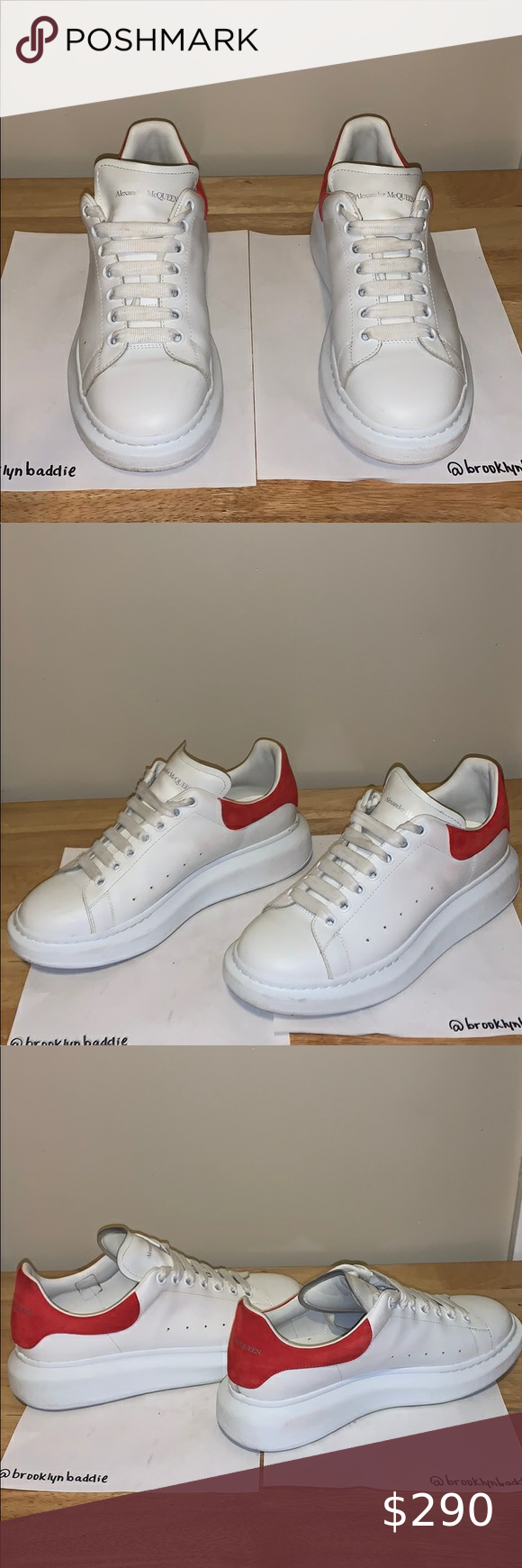 Men's Alexander McQueen sneakers size 9