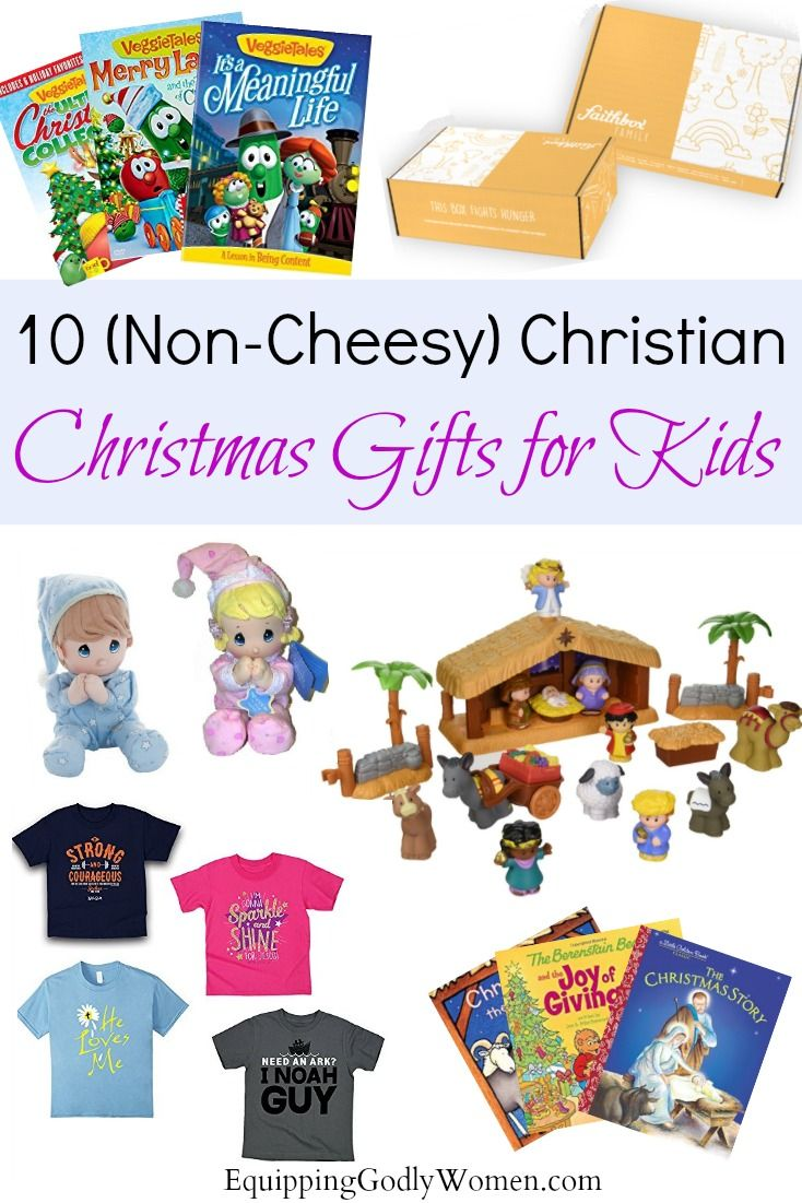 10 (Non-Cheesy) Christian Christmas Gifts for Kids | Holidays ...