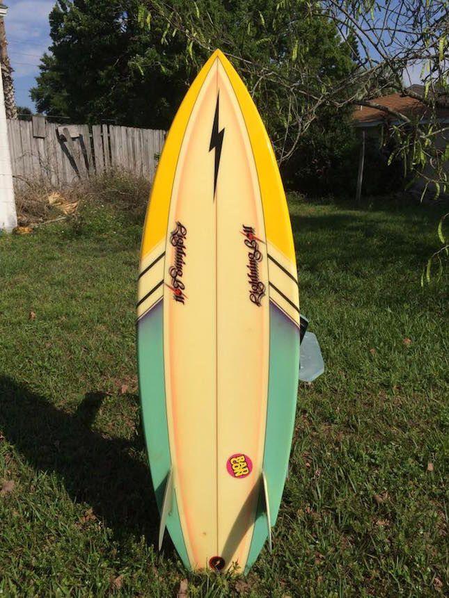Rory Russel Kneeboard Surfboard Vintage Surfboards