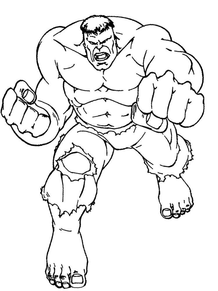 fazer download dos desenhos de hulk para colorir sueli