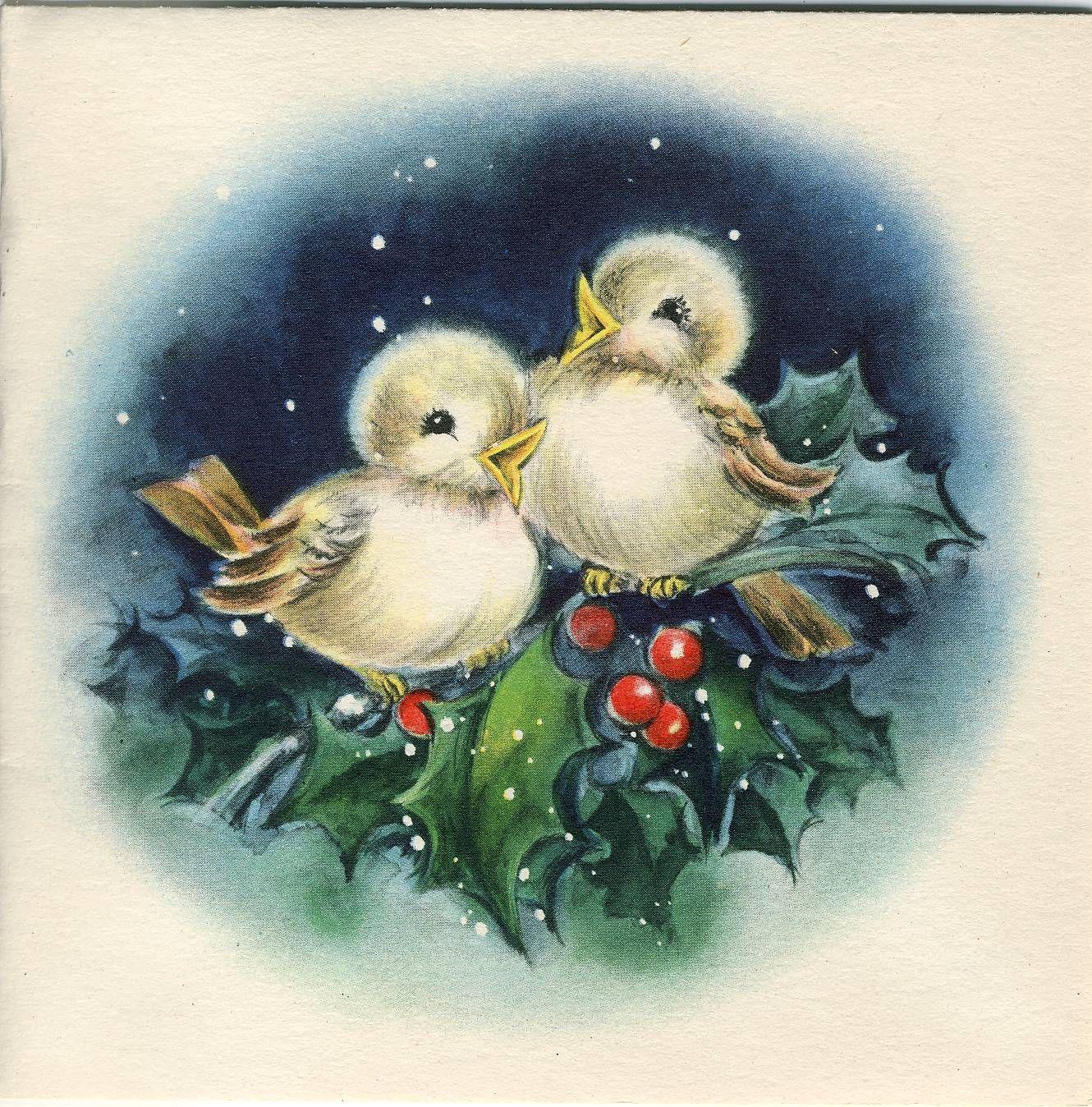 этого новогодние птички картинки было ограничено