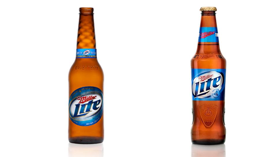 Miller Lite Redesigns The Longneck For The First Time In 40 Years Beer Bottle Beer Beer Brands