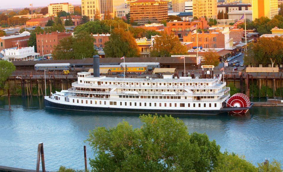 Historical riverboat with live entertainment groupon