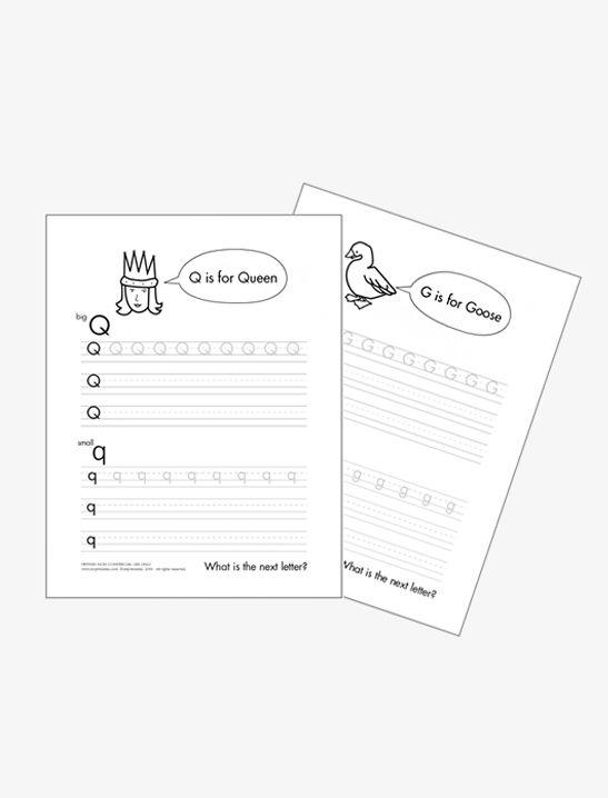 Alphabet Tracing Worksheets - Mr Printables   Alphabet ...