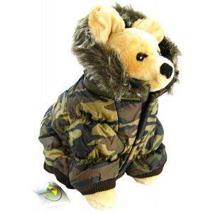 a0b02b8ea Pet Life DPF00014 Metallic Ski Parka Dog Coats with Removable Hood ...