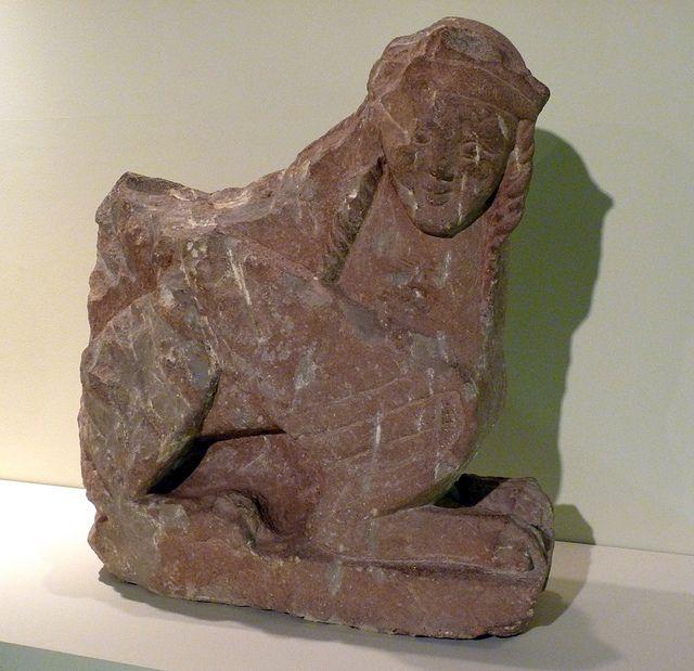Museo Arqueológico de Albacete (España). Sfinge di Haches (Bogarra, Albacete). In arenisca V a.C. | Flickr – Condivisione di foto!