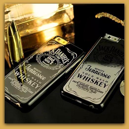 Luxury Brand Daniels Whiskey Daniel Hard Silver or Black Chrome ...