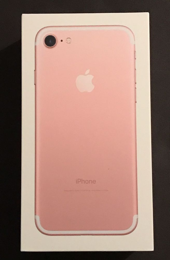 Apple Iphone 7 Plus Latest Model 128gb Rose Gold Box Only 190198047632 Ebay Iphone Iphone 7 Plus Apple Accesories