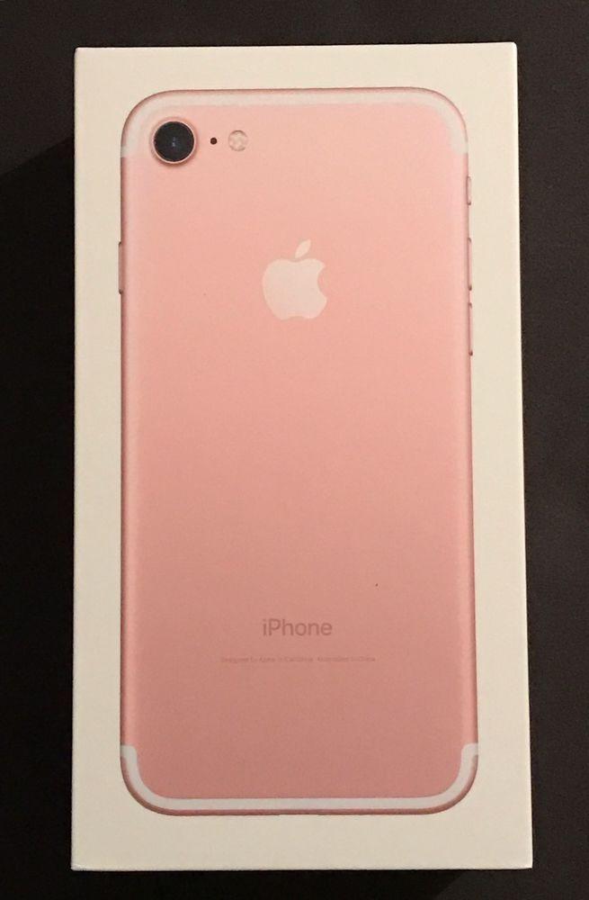 1c8b3b5f4a Apple iPhone 7 Plus (Latest Model) - 128GB - Rose Gold BOX ONLY!!  190198047632 | eBay