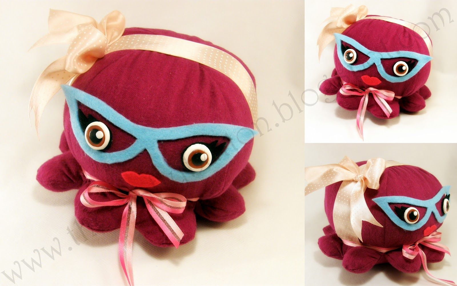 The Crafty Button: Free octopus sewing pattern  Exactly what I want for Austin!!