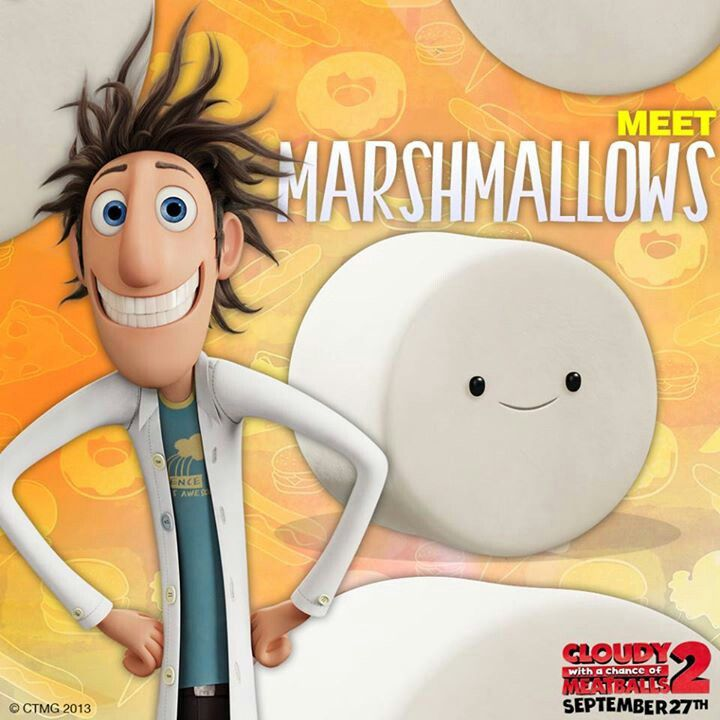 Marshmallow Cloudy With A Chance Of Meatballs 2
