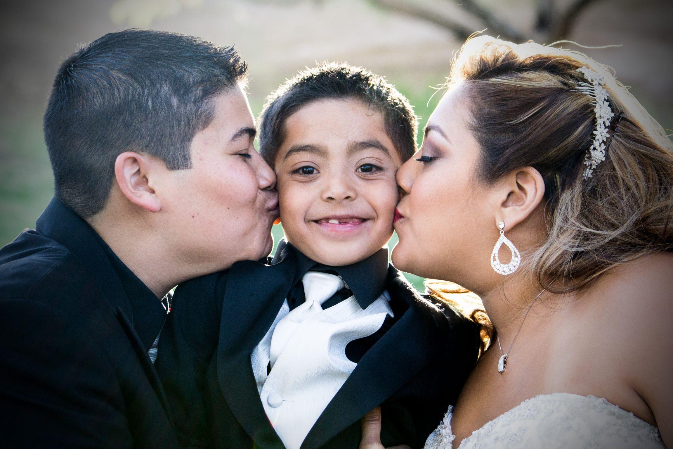 Arlene and Andy's wedding #wedding #photosbyace #smile #family