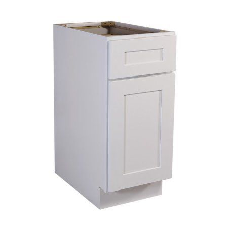 Brookings 9 Inch Fully Assembled Kitchen Base Cabinet White Shaker