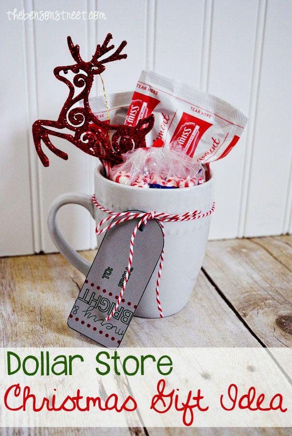 Diy Christmas Mug Gift Ideas