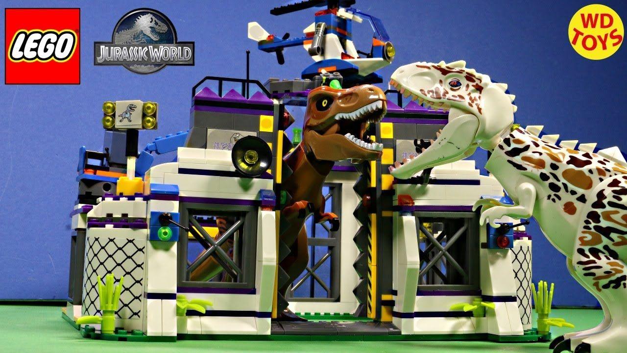New Lego Compatible Alien Tyrannosaurus Rex Escape Speed Build Or Indom Lego Jurassic World Tyrannosaurus Rex Tyrannosaurus