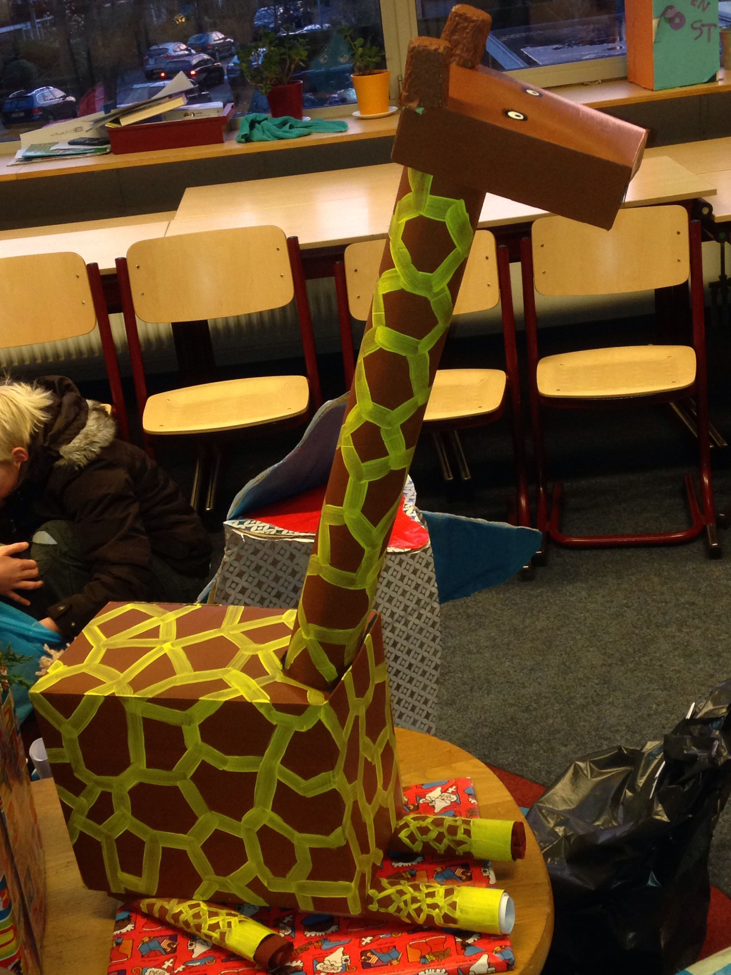 Giraffe I Love Giraffes Surprise Sinterklaas