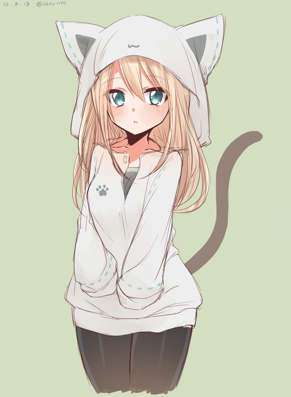 anime girl cat hoodie wwwpixsharkcom images