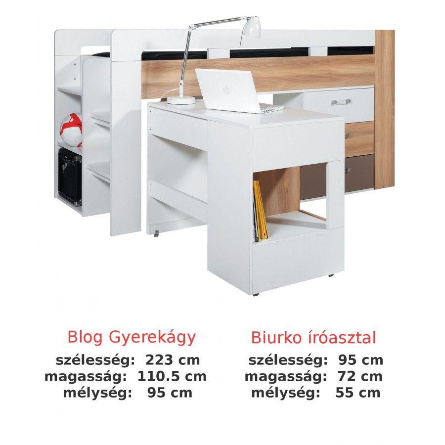 Berone bútor webáruház-akciós és olcsó bútor-BLOG SYSTEM ELEM - BL19 beépített ágy