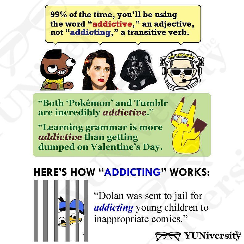 """Something That Has You Hooked Is """"addictive"""" Not"""