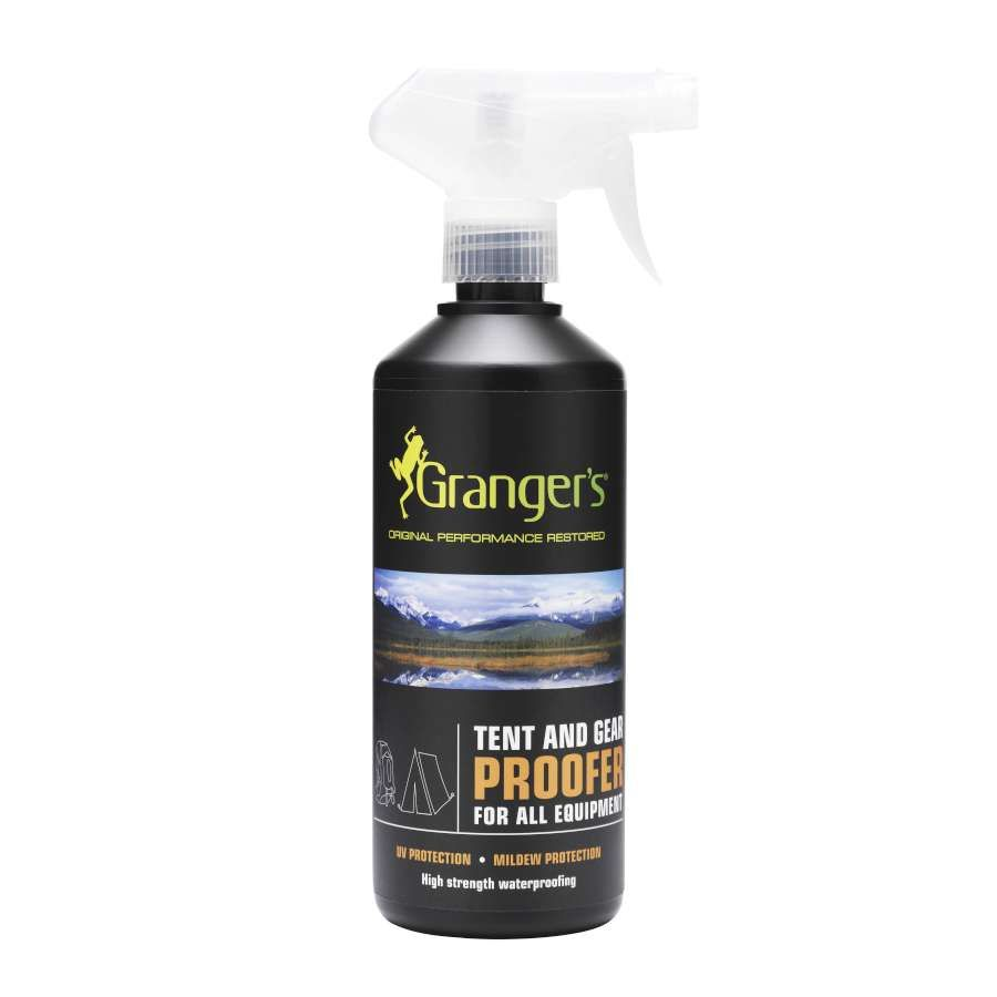 The ideal proofer for all backpacks equipment and smaller tents. Features - Silicone based proofing suitable for all fabric types - Simple spray ...  sc 1 st  Pinterest & Tent and Gear Spray on Reproofing 500ML | Gazebo spare parts ...