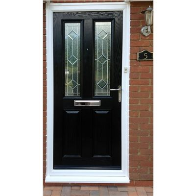 New Black Front Door Composite Doors Pinterest Black Front