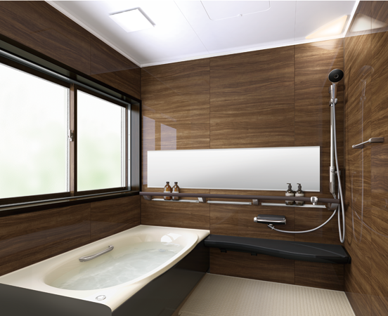 Lixil 浴室 アライズ 施工イメージ Ktype 浴室 おしゃれ 浴室 インテリア 浴室リフォーム