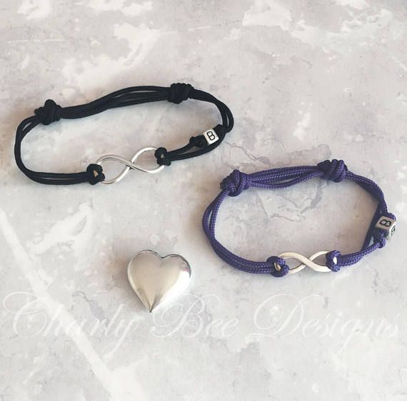 Personalised Bracelet Set Infinity Sentimental Gifts Boyfriend Gift Custom Jewellery Bracelets