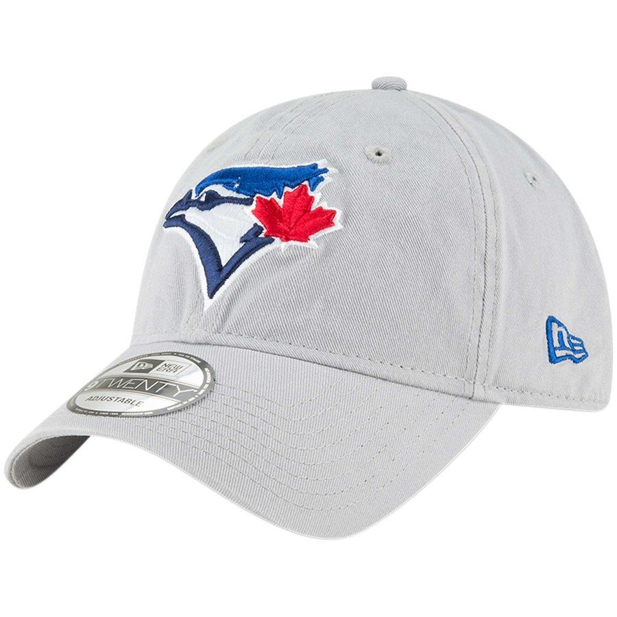 check out ff3b1 c85a7 Men s Toronto Blue Jays New Era Gray Core Classic Twill 9TWENTY Adjustable  Hat, Your Price   19.99