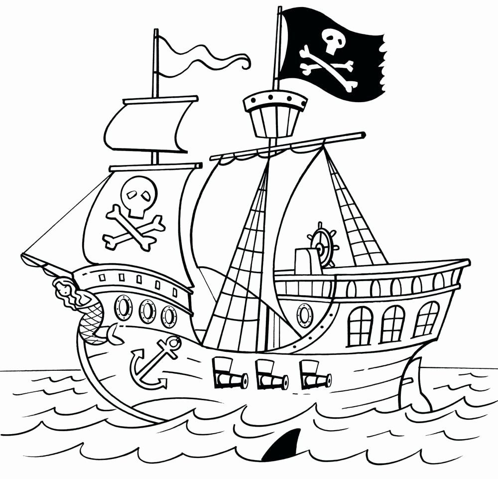 Pirate Ship Coloring Sheet Lovely Coloring Pages Of Sailboats Lagunapaper Pirate Ship Drawing Coloring Pages Ship Drawing [ 961 x 1000 Pixel ]