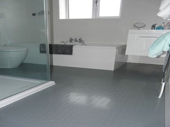 57 Ideas For Bath Room Floor Rubber Grey Bath Rubber Flooring