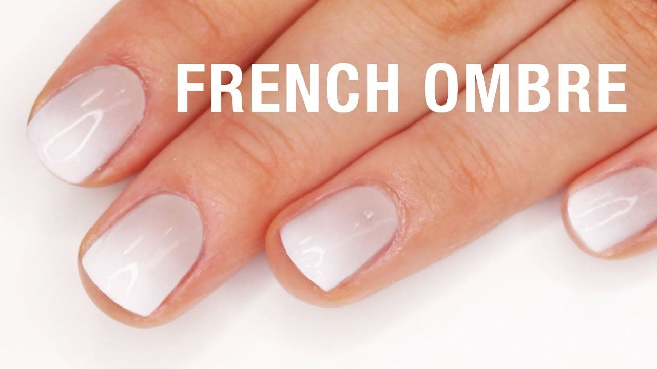 French Ombre Nail Tutorial Youtube Ombre Nails Tutorial Ombre Nails Ombre Gel Nails