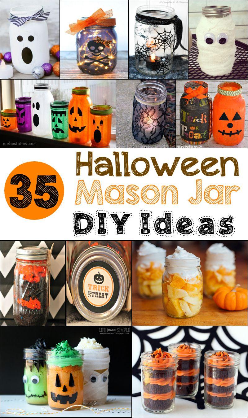 50 Diy Mason Jar Halloween Crafts Mason Jar Halloween Crafts Halloween Mason Jars Halloween Mason Jars Diy