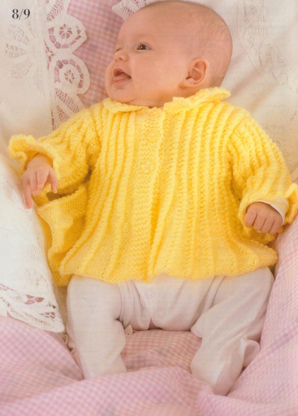 Patons 382 Knitting for Baby | Baby knitting patterns ...
