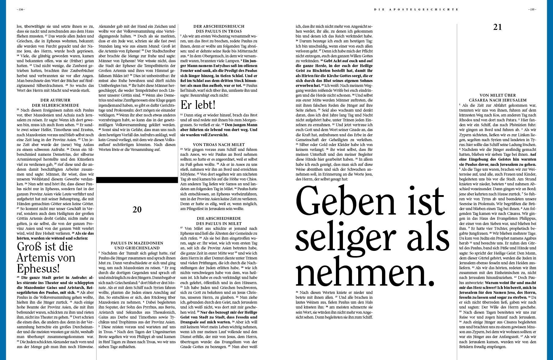 Www Bibelalsmagazin De Lesbares Aufgeraumtes Design Das Neue