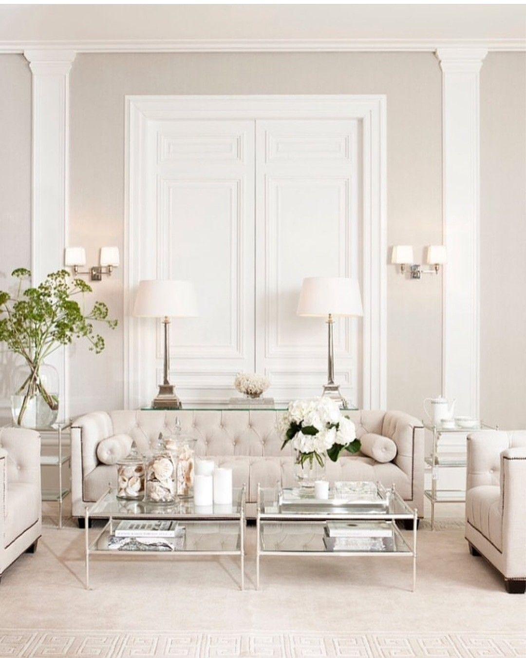 اثاث اثاث مودرن اثاث ايكيا أثاث منزلي اثاثكم ديكورات خارجية ديكورات ديكور ديكورات داخليه All White Room Living Room White Formal Living Rooms