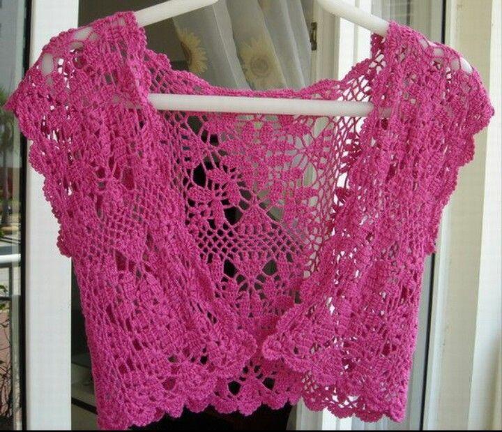 Picasa Web Albums. PICTURE ONLY. Crochet woman\'s bolero. | Crochet ...