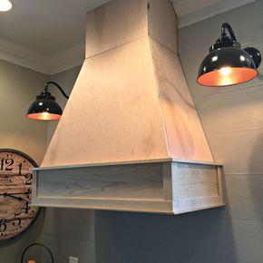 a diy ish wood vent hood diy hood range kitchen hoods vent hood on outdoor kitchen vent hood ideas id=30052