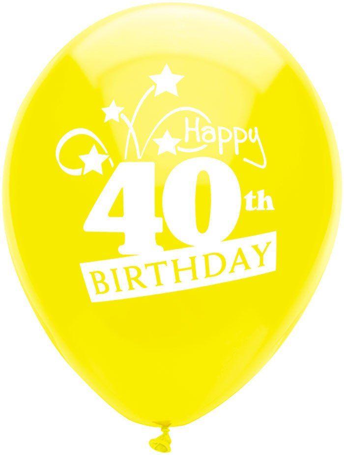12 Round Latex Happy Birthday Balloons Happy Birthday Balloons