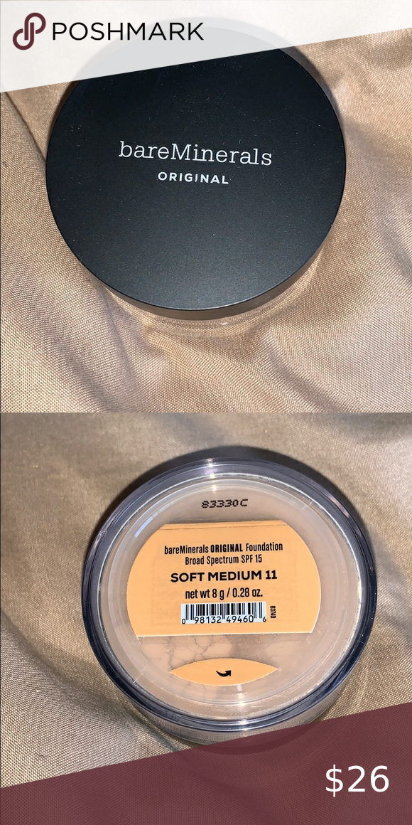 Bare Minerals Original Foundation This foundation is full