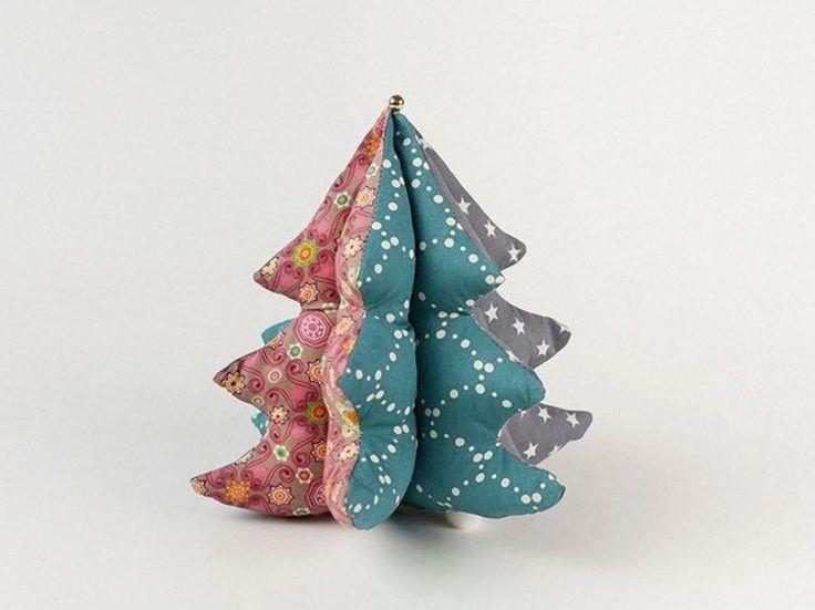 Tutoriales DIY: Cómo hacer un pequeño árbol de Navidad de tela vía DaWanda.com (scheduled via http://www.tailwindapp.com?utm_source=pinterest&utm_medium=twpin)