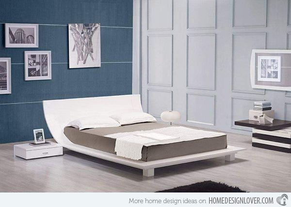 15 Stylistic Curved Platform Beds Design Your Bedroom